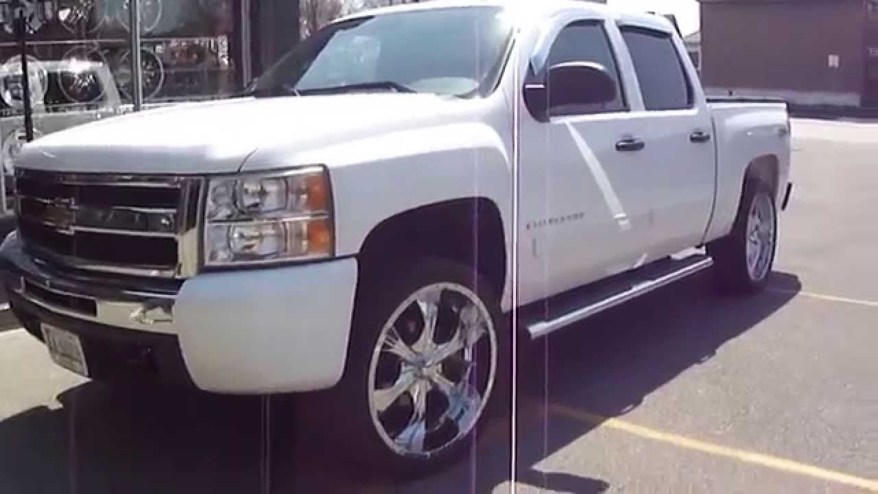 Hillyard custom rim tire 2012 chevrolet silverado rolling on 24 inch rims tires youtube