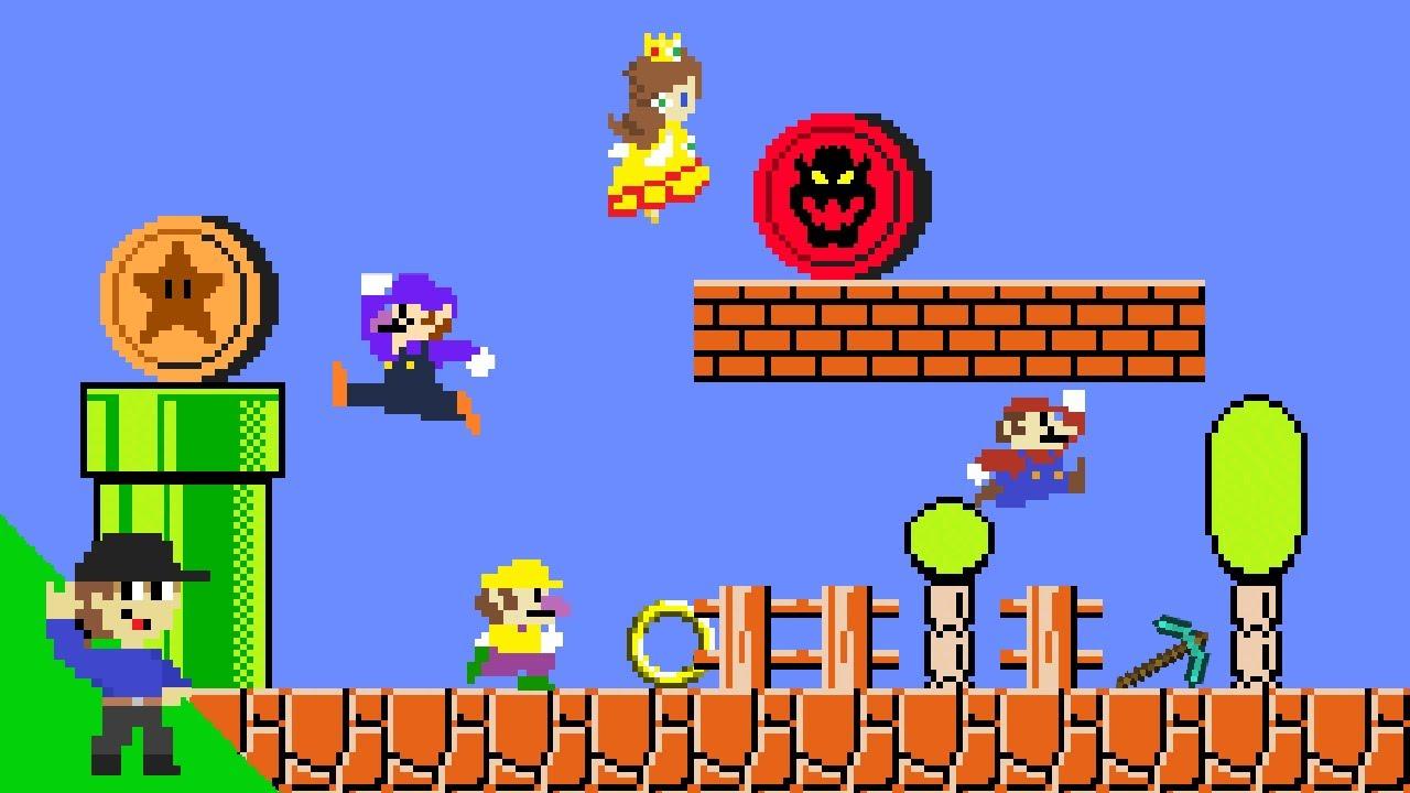 Level UP: Mario's Easter Egg Hunt Mayhem 3
