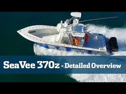 Florida Sport Fishing TV - SeaVee 370Z Follow The Build Final Walk thru