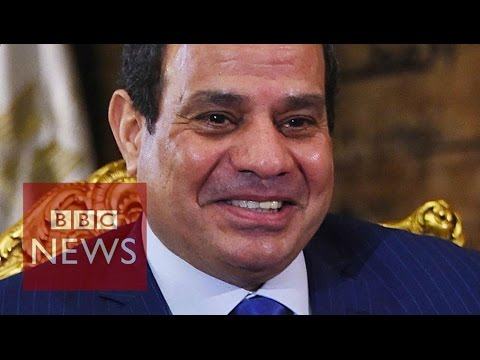 President Sisi defends Egypt's security laws  - BBC News