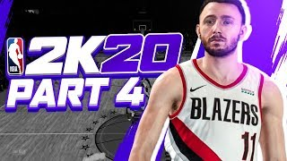 "NBA 2K20 MyCareer: Gameplay Walkthrough - Part 4 ""Draft Projection"" (My Player Career)"