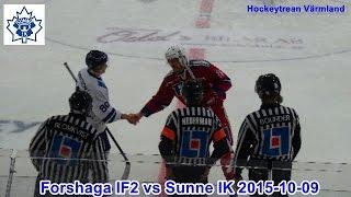 Forshaga IF2 vs Sunne IK 2015 10 09