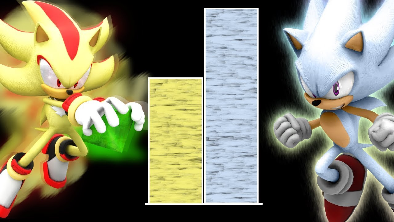 Dbzmacky Sonic Vs Shadow Power Levels Over The Years Youtube