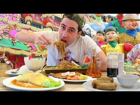 """FILIPINO FOOD FIESTA"" Mukbang | Kain Tayo! Masarap!! 😍"