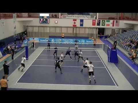 Team Alberta vs Team Manitoba WCSG Semi Final
