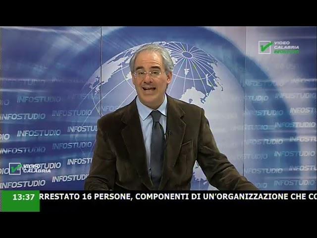 InfoStudio il telegiornale della Calabria notizie e approfondimenti - 24 Gennaio 2020 ore 13.30