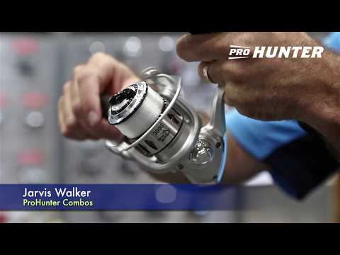 New Prohunter Rods And Reels From Jarvis Walker - AFTA 2019