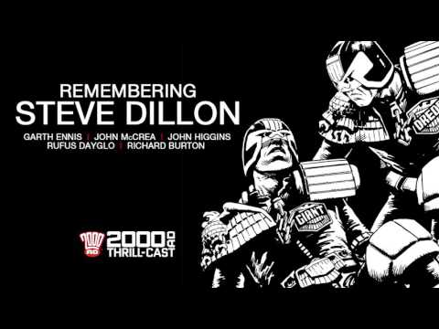 The 2000 AD Thrill-Cast: Remembering Steve Dillon