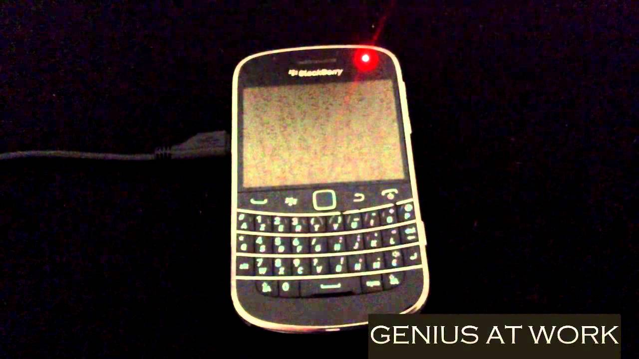 How To Fix Blackberry 9900 Bold Red Light And Charging Problem Youtube