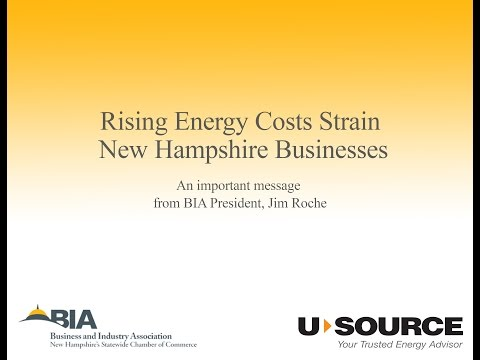 NH BIA: Rising Energy Costs in NH