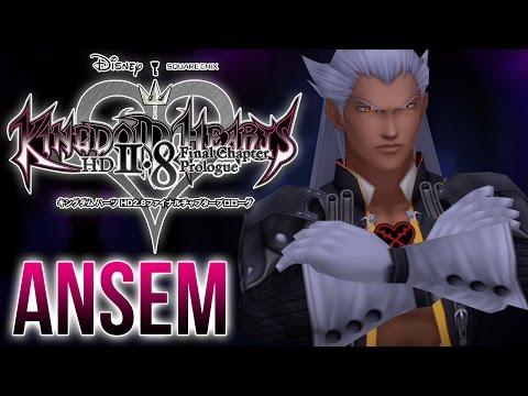 Kingdom Hearts 2.8 - Ansem Boss Fight - Dream Drop Distance HD