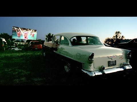 Michigan vintage drive-in movie theaters