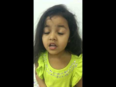 4 year old Wonder Girl Ayat says all about India!!