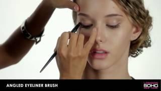 SOHO Professional Collection - Angled Eyeliner Brush - YouTube Thumbnail