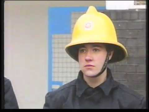 South Yorkshire firewoman documentary 1990s