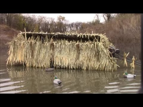 Duck Hunting 2017 #3 ------- Duck Blind Build/Install