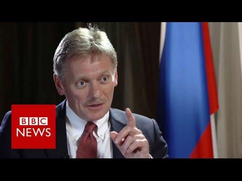 Peskov: Putin spokesman denies US election hack - BBC News