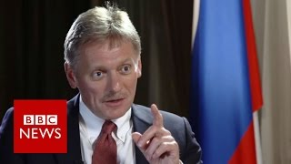 Peskov  Putin spokesman denies US election hack   BBC News