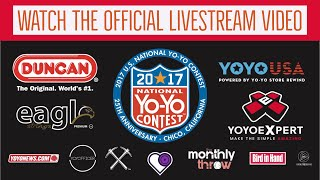 National yoyo contest 2017 - 25th anniversary