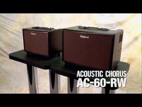 AC-60-RW/AC-33-RW Acoustic Chorus Guitar Amplifier Overview
