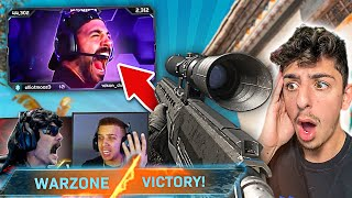 I SNIPED NICKMERCS ACROSS THE MAP!! (ft. FaZe Swagg & DrDisRespect) *VICTORY*