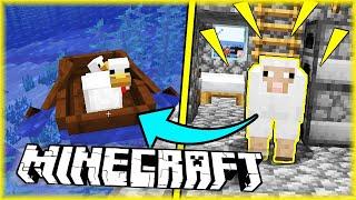 OWCA MARIAN ZADAWAŁA SIĘ Z KURCZAKAMI | Minecraft [#17] | BLADII & DOBRODZIEJ