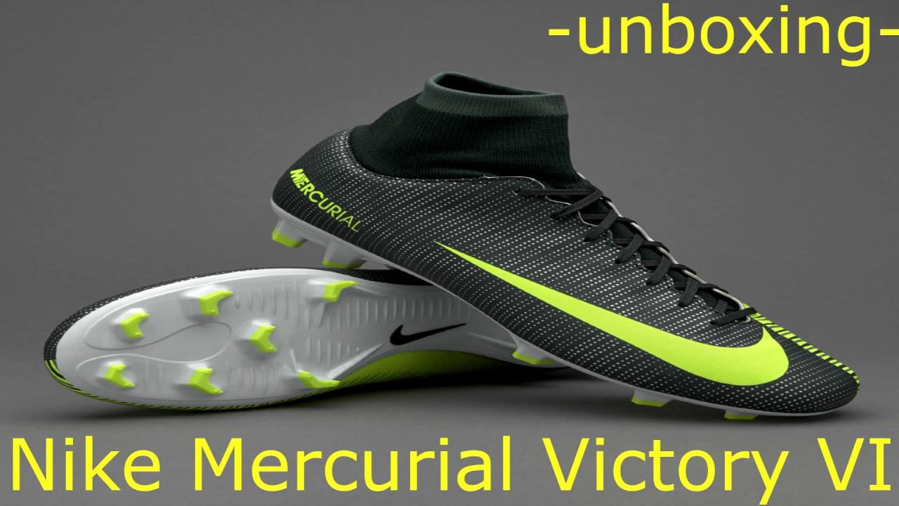 8e4a77f06 EPIC UNBOXING CR7 NIKE MERCURIAL VICTORY VI FG RONALDO BOOTS ...