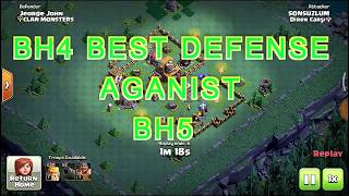 CLASH OF CLANS-BUILDER BASE 5(BH5) ATTACKING BUILDER BASE 4(BH4)/BEST BH4 BASE