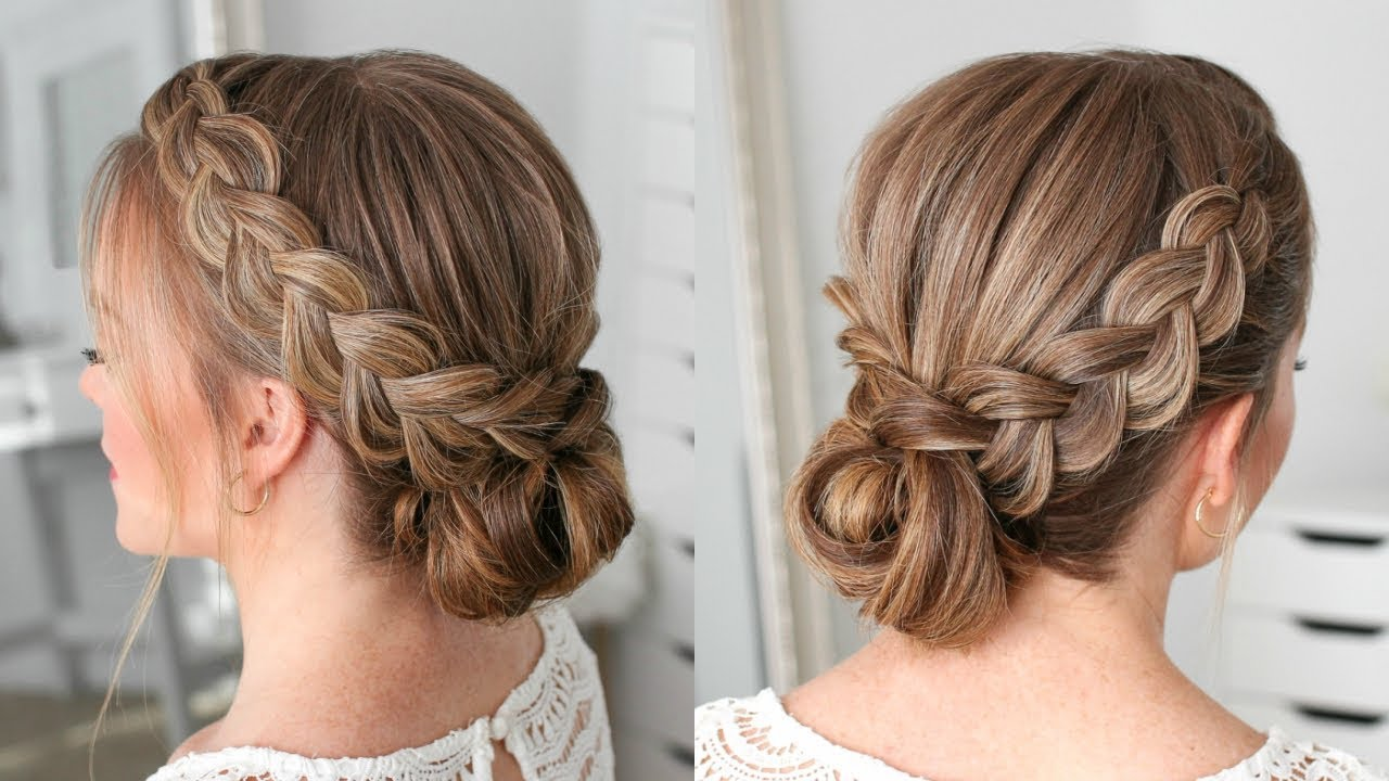 Image result for dutch braid updo