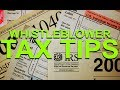 Whistleblower: Tax Traps & Tax Tips