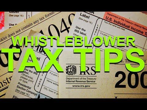 Whistleblower: Tax Traps & Tax Tips