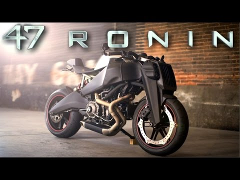 Cafe Racer ( Ronin 47 - Buell 1125 by Magpul) - YouTube