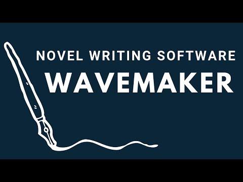 Novel Writing Software: Wavemaker