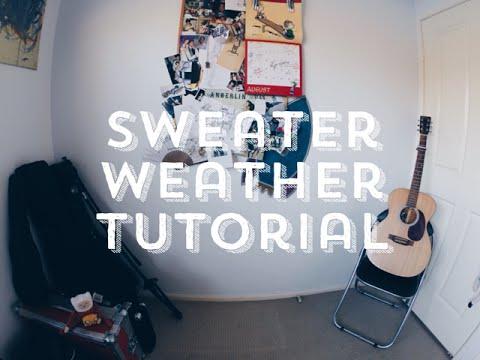 Sweater Weather - Zeek Power tutorial - YouTube