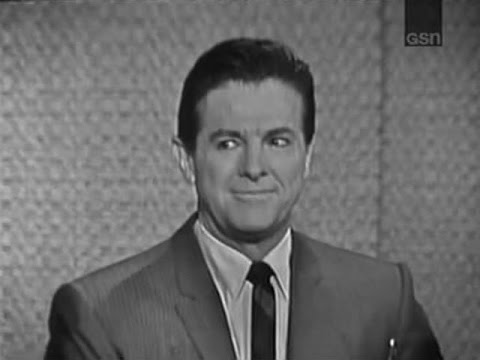What's My Line? - Bob Cummings; Chuck Yeager; Steve Lawrence [panel] (Aug 23, 1964)