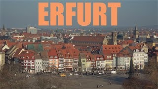 Erfurt attractions in 4k | germany