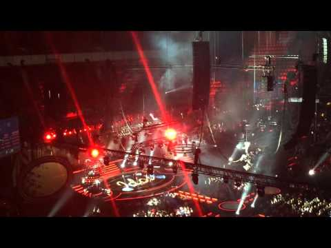 The Fooo Conspiracy || Swedish idol || Globe arena || 04.12.15 ||