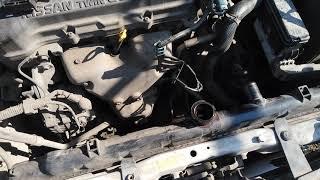 замена радиатора Nissan Sunny , важные нюансы. Часть 1