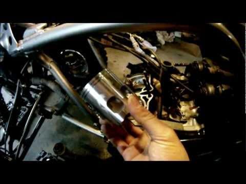 Yamaha Banshee Topend Rebuild - How to