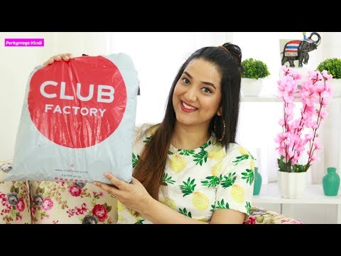 Club Factory Haul | Jewellery Bags Accessories Home Utilities | Perkymegs Hindi