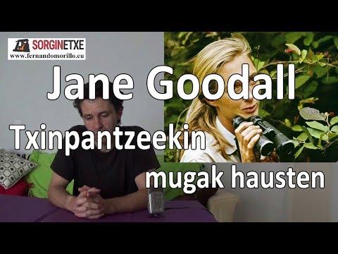 Jane Goodall. Txinpantzeekin mugak hausten - Fernando Morillo Grande (Sorginetxe istorioak)