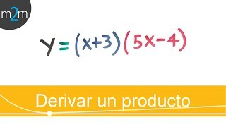 ✅ DERIVATE A FUNCTION PRODUCT