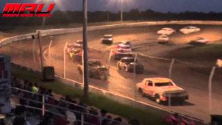 IMCA Hobby Stock Feature at Raceway Park on July 19th, 2015