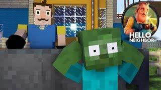 Monster School HELLO NEIGHBOR CHALLENGE Minecraft Animation