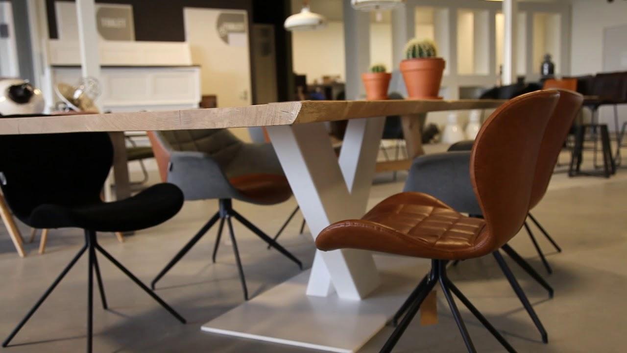 Stoel Zuiver Omg : Zuiver doulton en omg stoelen bij woonloodz youtube