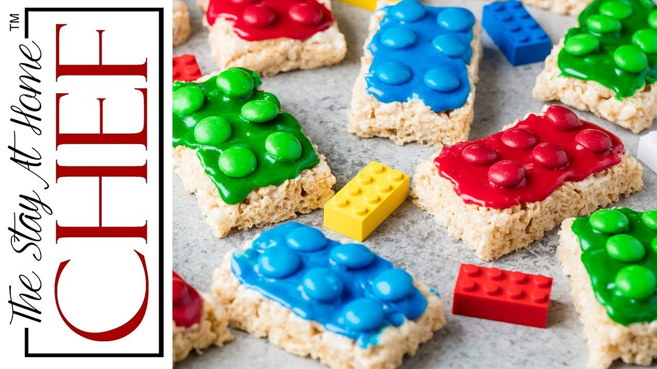 How To Make Lego Rice Krispie Treats Youtube