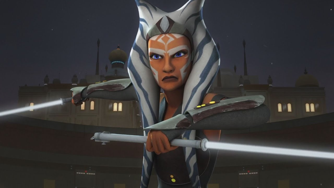 Image result for ahsoka tano vs fifth brother and seventh sister on garel