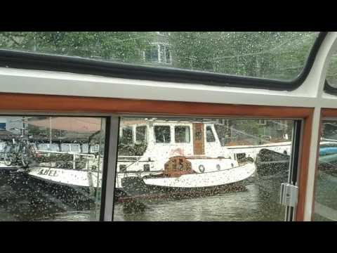 Amsterdam (Holland /The Netherlands) canal cruise.   May 2016.