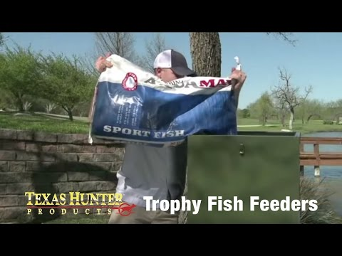 Directional Fish Feeders For Ponds And Lakes By Texas Hunter Products
