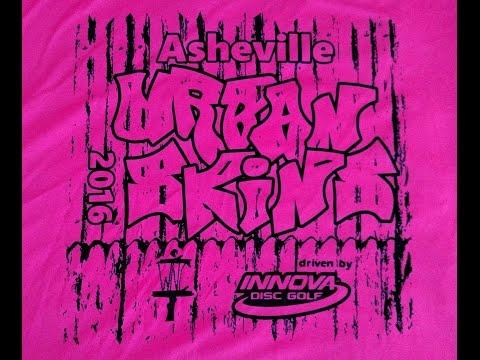 2016 Disc Golf Urban Skins Asheville NC MDGE DGM PDGA Innova